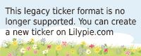 Lilypie Aspettando Ticker