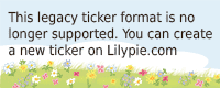 Lilypie L'attente Ticker